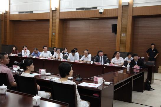 第三届两岸法学交流研讨班成员参访重庆市第一中级人民法院